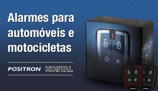 Alarmes para automóveis e motocicletas