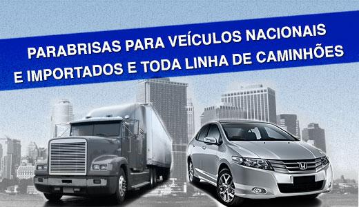 Parabrisa para carros e caminhões